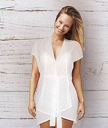 Tehotenské oblečenie - Tunika White Helenka - 8300472_