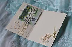 Papiernictvo - Svadobné blahoželanie - motýle - 8300982_