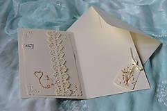 Papiernictvo - Svadobné blahoželanie - motýle - 8300983_
