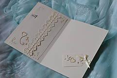 Papiernictvo - Svadobné blahoželanie - nekonečná láska - 8300989_