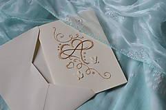 Papiernictvo - Svadobné blahoželanie - nekonečná láska - 8300995_