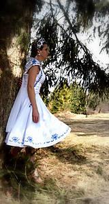 Šaty - Svadobné šaty SNEHULIENKA - 8302978_