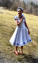 Šaty - Svadobné šaty SNEHULIENKA - 8302984_