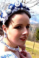 Sady šperkov - Svadobný set pre neho a pre ňu SNEHULIENKA - 8303056_