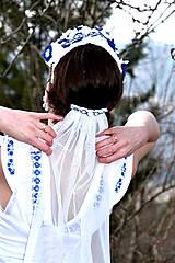 Sady šperkov - Svadobný set pre neho a pre ňu SNEHULIENKA - 8303061_