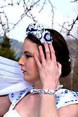 Sady šperkov - Svadobný set pre neho a pre ňu SNEHULIENKA - 8303070_