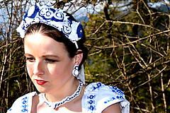 Sady šperkov - Svadobný set pre neho a pre ňu SNEHULIENKA - 8303076_