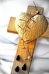 Dekorácie - Krížik jaseňový - malý - 8303360_