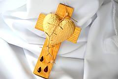 Dekorácie - Krížik jaseňový - malý - 8303361_