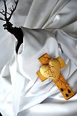 Dekorácie - Krížik jaseňový - malý - 8303362_