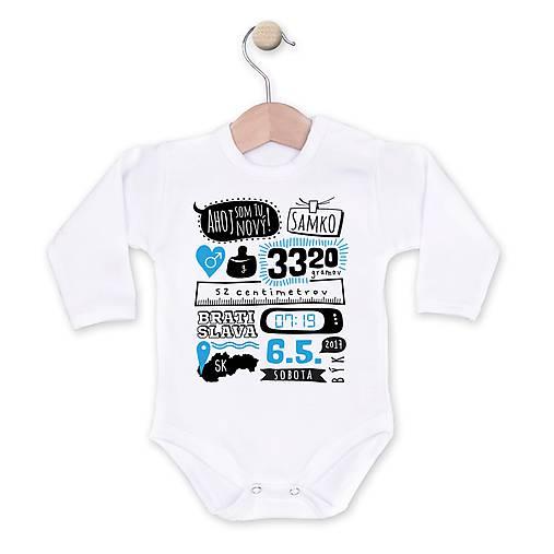 Som tu nový!   depingo - SAShE.sk - Handmade Detské oblečenie d9f5289b5b9