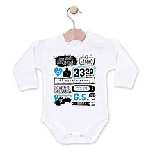 Detské oblečenie - Som tu nový! - 8302954_