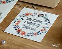 Papiernictvo - Svadobné oznámenie 30 - 8303090_