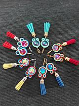Color explosion - tassels ...soutache