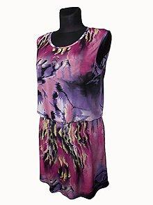 Šaty - podkasané šaty - 8302786_