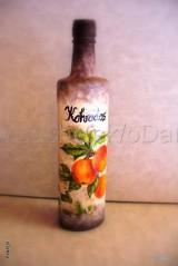 fľaša na Kalvados