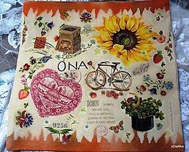 Úžitkový textil - obliečka na vankúš ONA - 8303601_