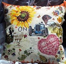 Úžitkový textil - vankúš ON - 8303605_