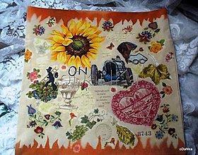 Úžitkový textil - obliečka na vankúš ON - 8303612_