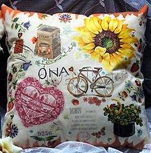 Úžitkový textil - vankúš ONA - 8303761_