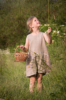 Detské oblečenie - Šaty pre Vílu Amálku ;) - 8304021_