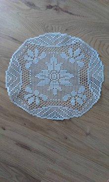 Úžitkový textil - Háčkované obrusy - 8304220_