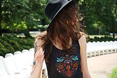 Šaty - Ľudovky black - šaty - 8303476_