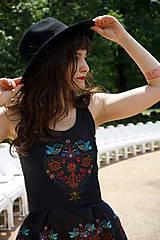 Šaty - Ľudovky black - šaty - 8303478_