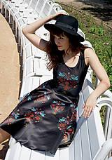Šaty - Ľudovky black - šaty - 8303479_