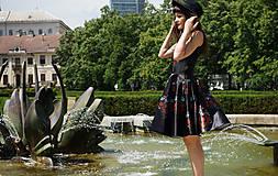 Šaty - Ľudovky black - šaty - 8303481_