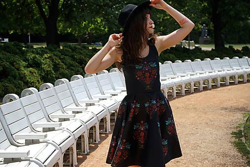 Ľudovky black - šaty