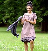 Šaty - Šaty - světle bordó - 8302452_