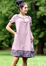 Šaty - Šaty - světle bordó - 8302454_