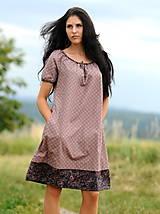 Šaty - Šaty - světle bordó - 8302459_