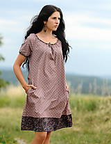 Šaty - Šaty - světle bordó - 8302461_