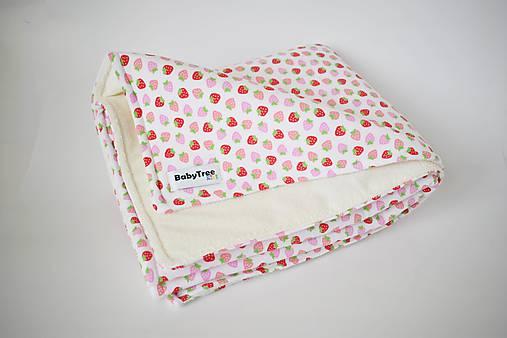 Detské doplnky - Jahôdky - Prebaľovacia podložka Compact - 8305055_
