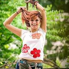 Tričká - Origo tričulo kvety - 8304518_
