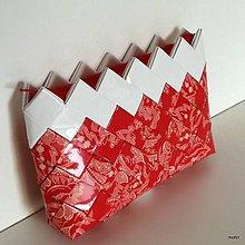 Peňaženky - červená peňaženka - 8304932_