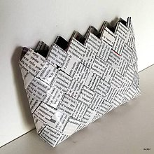 Peňaženky - novinová peňaženka - 8304951_