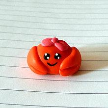 Hračky - Krab - krabica :D mašličková - 8303292_
