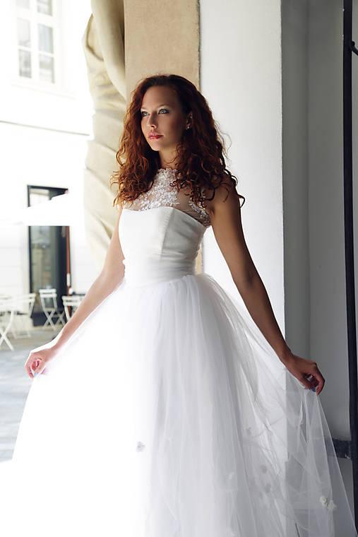 Svadobné šaty Biela Labuť   ceccilia - SAShE.sk - Handmade Šaty eaed6d4560c