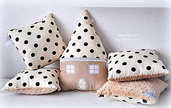 Textil - Domčekový set 5ks z BIO bavlny aj v inej farbe pozri obrázky - 8305413_