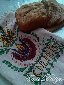 Úžitkový textil - Vrecko na  chlieb - Chlieb náš každodenný... - 8307275_