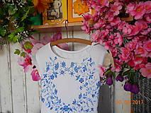Šaty - FLORAL FOLK - bambusové šaty ľudové maľované s kruhovou sukňou a vačkami - 8306845_