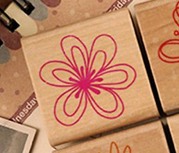 Pomôcky/Nástroje - Pečiatka kvet 2 - 8306579_