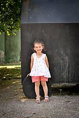 Detské oblečenie - Top LENA bodkový - 8305583_