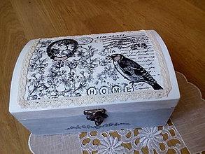 Krabičky - Šperkovnica HOME - 8306790_