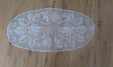 Úžitkový textil - Háčkované obrusy - 8306637_