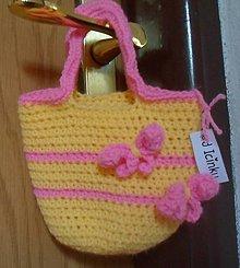 Detské tašky - Slniečkovo-mašličková - 8306202_