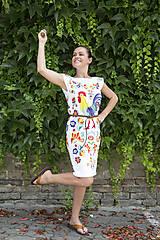 Šaty - Kohútik Jarabý - letné šaty - 8306662_